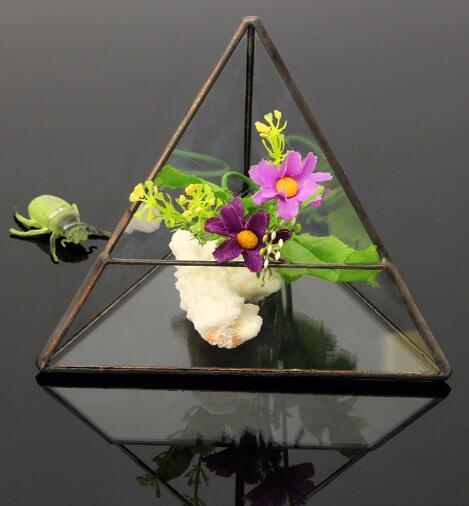 Top Selling Glass Geometric Terrarium Planter Glass Vase