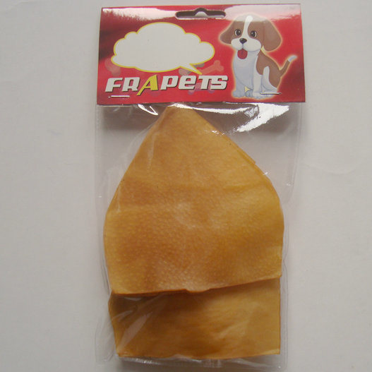 "Dog Chew of 5"" Smoked Pork Hide Pig Ear for Dog"