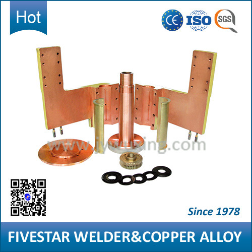 Spare Copper Welding Parts for Model Ftn-160 Shock Absorber Seam Welder