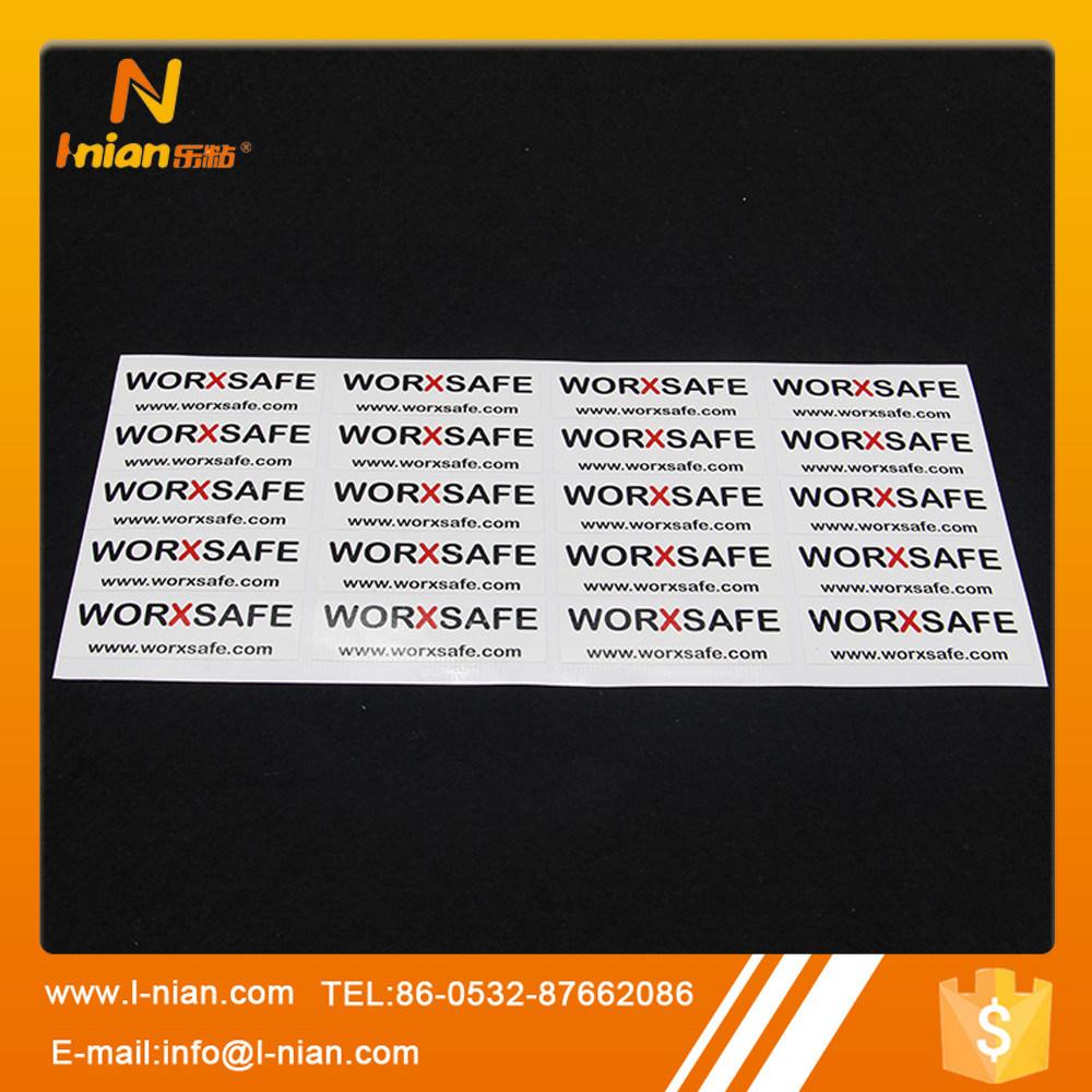 Custom Printing Waterproof Durable PVC Vinyl Sticker