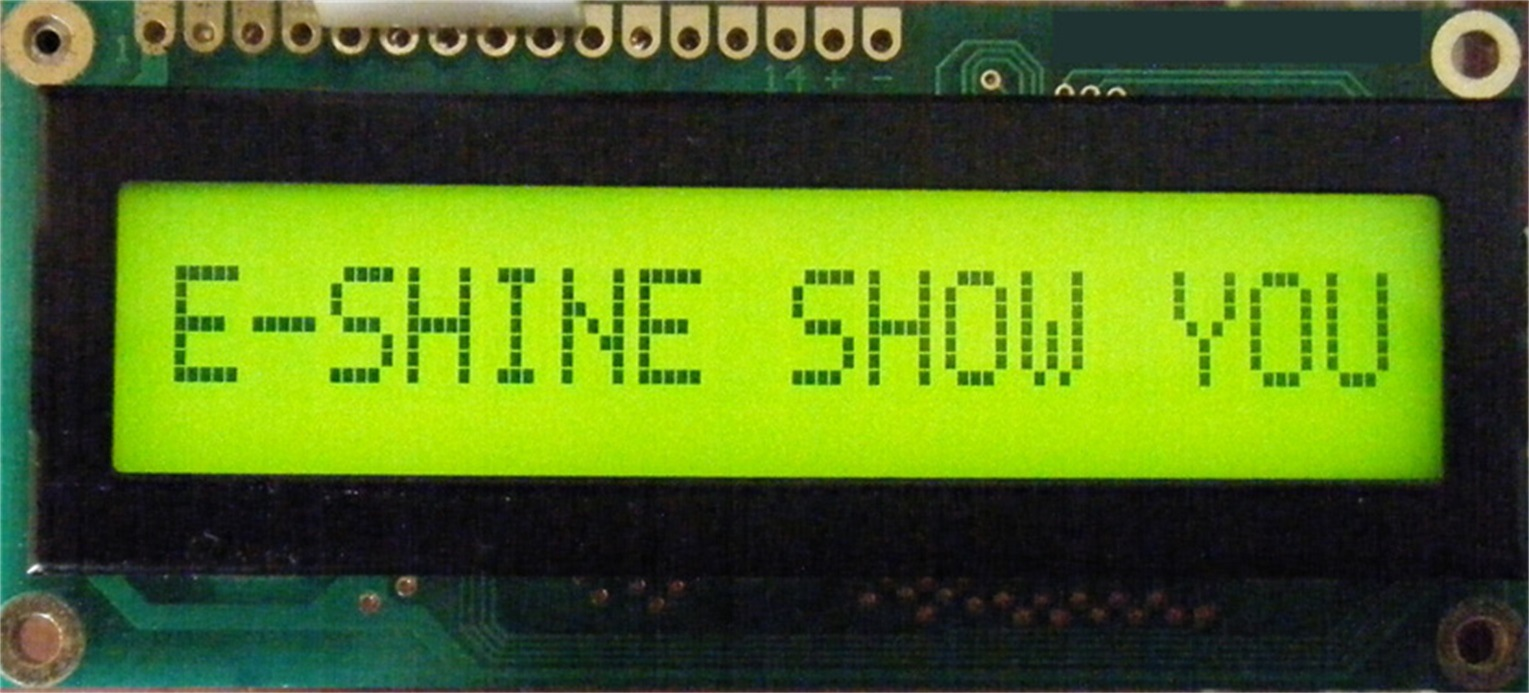 LCD Modules Stn LCD Character COB EC1601G0