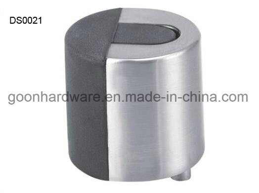 Zinc Door Stopper with Rubber Ds0021