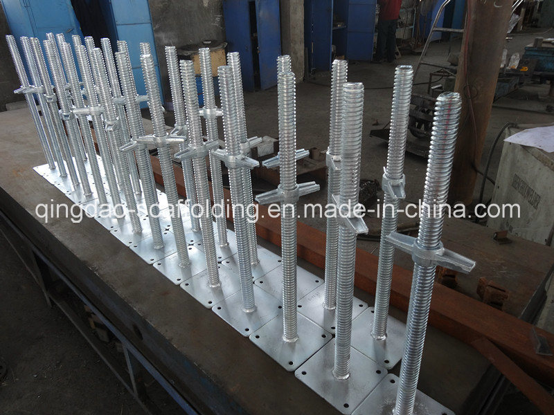 Adjustable Screw Base Jacks; Scaffolding Jack Base