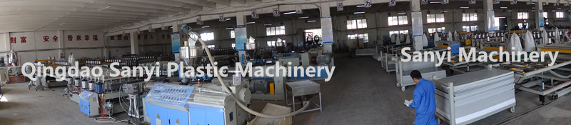 WPC Construction Template Manufacturing Line