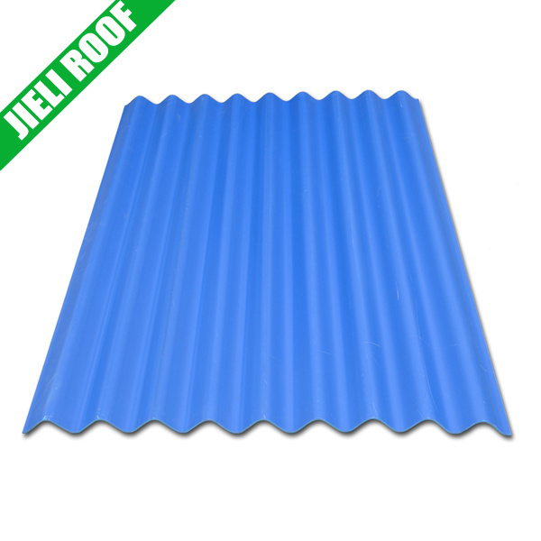 Anti-Corrosion Small Wave PVC Roof Sheet