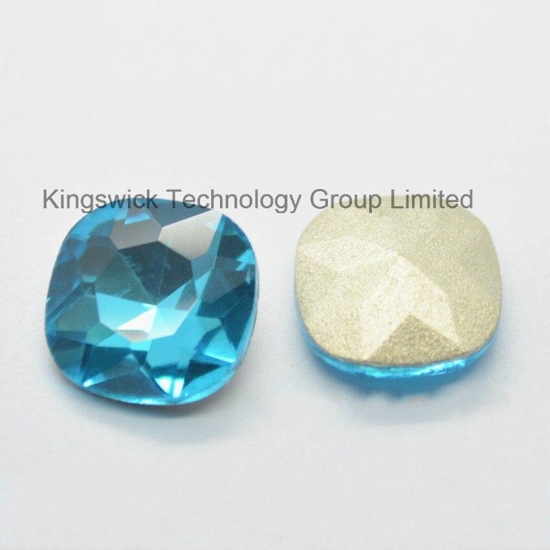 Aquamarine Square Crystal Fancy Stones