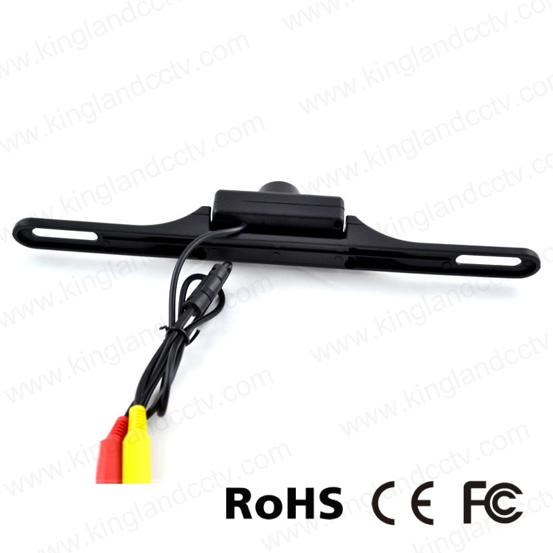 Universal Waterproof Infrared Licence Plate Rear View Camera