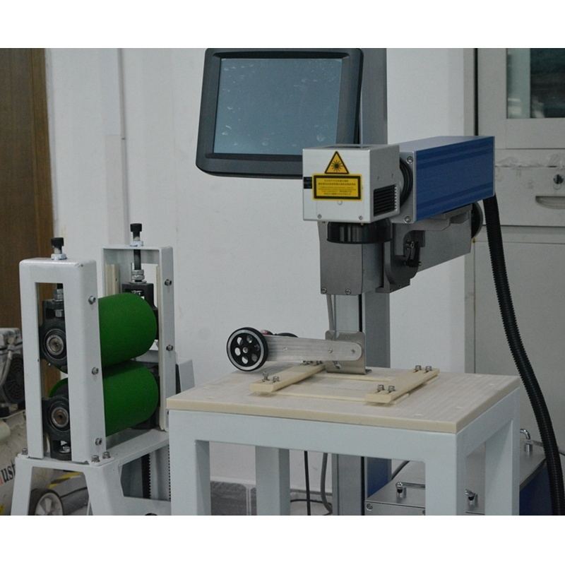 Customized Automatic Marking Line Laser Marking Machine Mark on Plastic