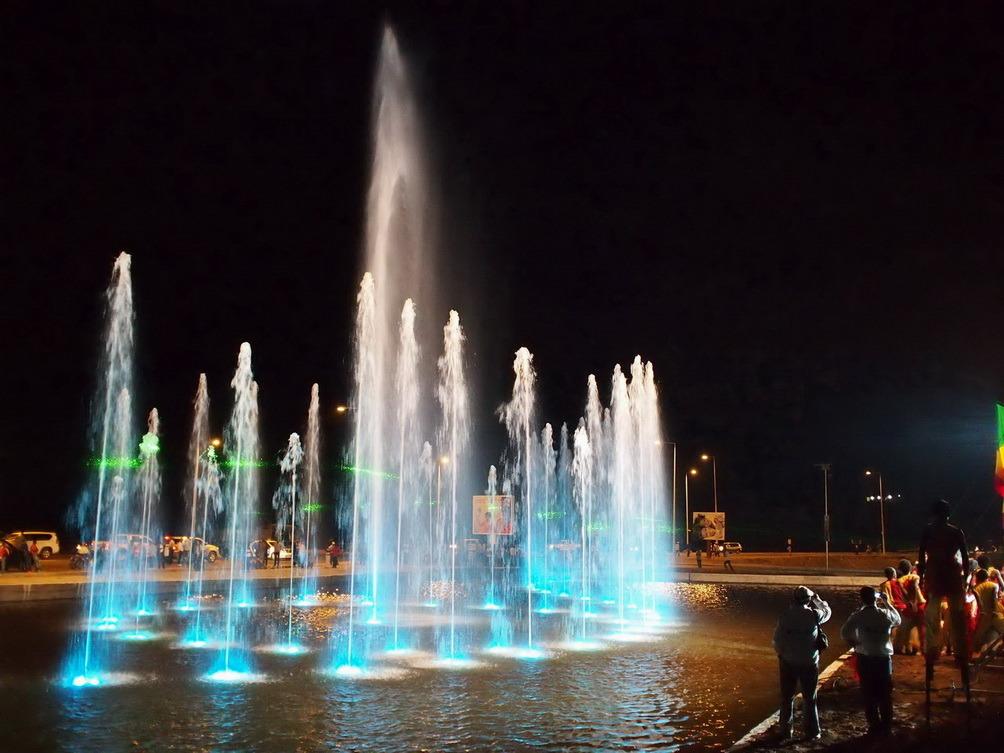 Congo National Day Outdoor Music Fountain
