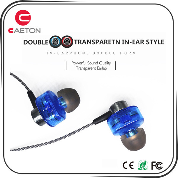 Factory Good Quality Metal Material Wired Earphone