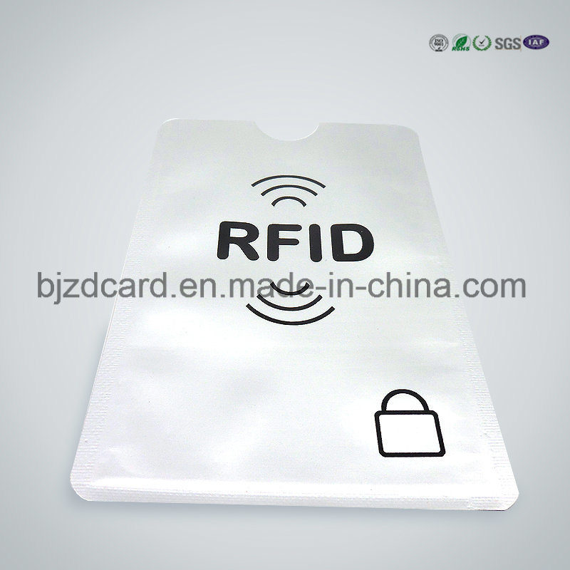 Latest Paper RFID Blocking Sleeve for Credit Card