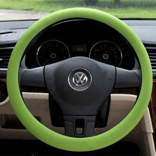 Custom Cheap Colorful Silicone Car Steering Wheel Cover