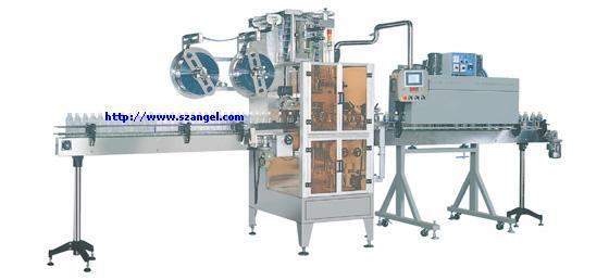 Labeling Machine / Automatic Sleeve Shrinking Labeling Machine