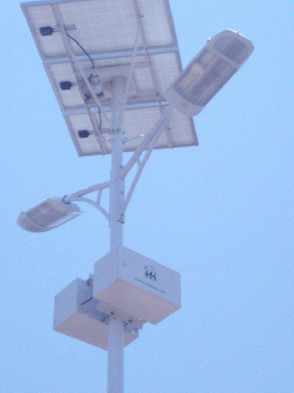 Double Solar LED Street Light (Kenya Nairobi) (SSLD60W +SSLD20W)