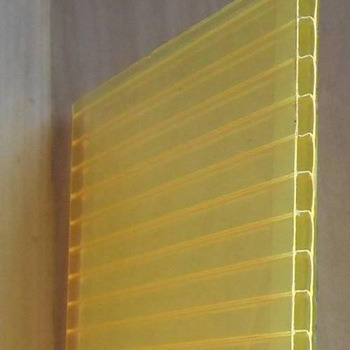 Twin-Wall Polycarbonate Hollow Sheet for Awning