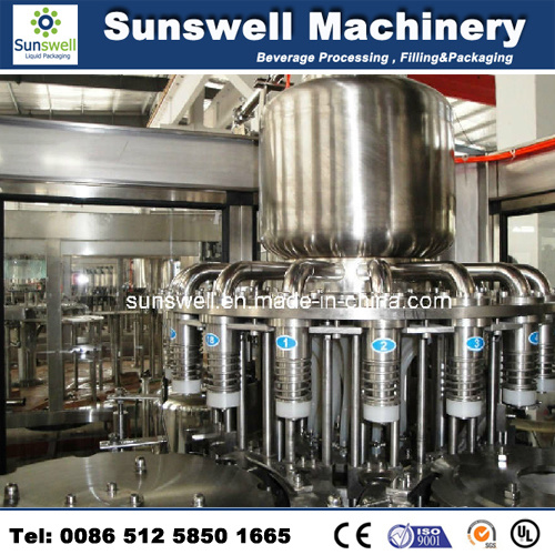 Automatic Hot Production Line Furit Juice Filling Machine (RCGF 24-24-8)
