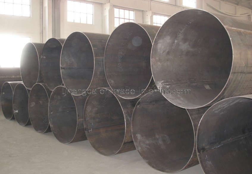 China lsaw steel pipe large diameter pipes
