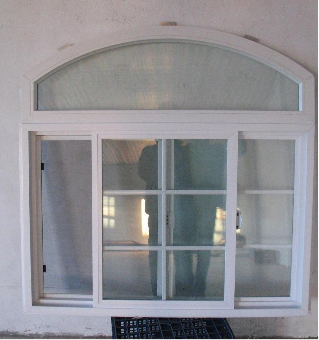 Vinyl Arched Window : China american style arch window vinyl