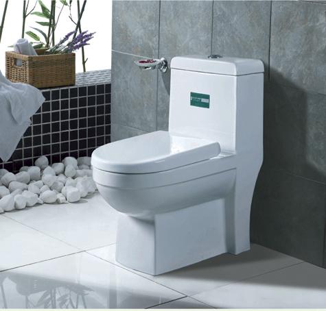 Ceramic Toilet One Piece Toilet Siphonic Toilet