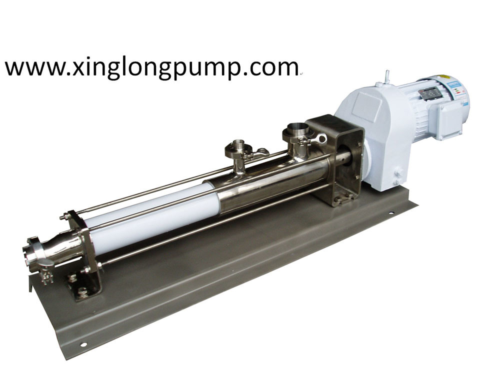 Food Grade Sanitary Single Screw Pump