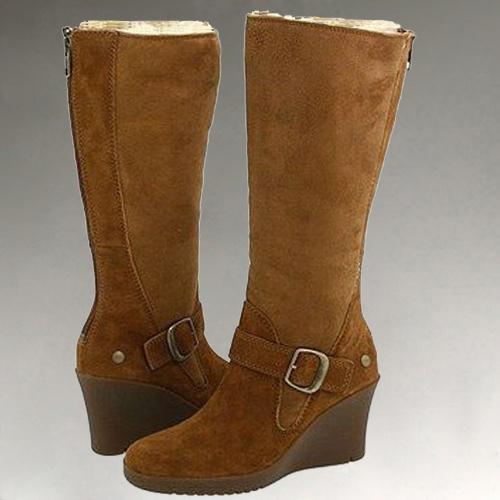 winter fashion sheepskin high heel snow boots bl 070