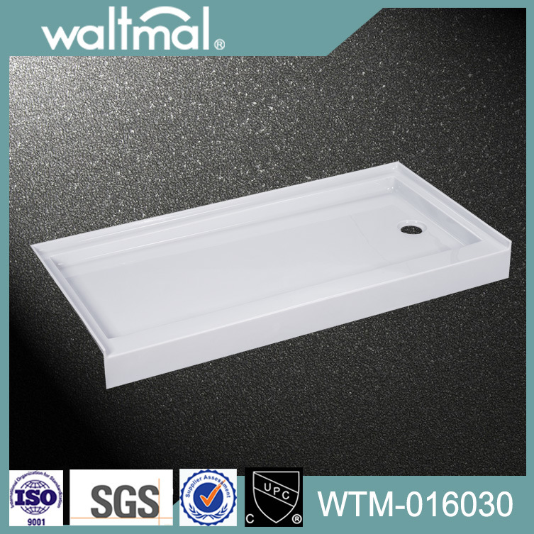 Cupc Shower Tray/Base Will Wall Flange