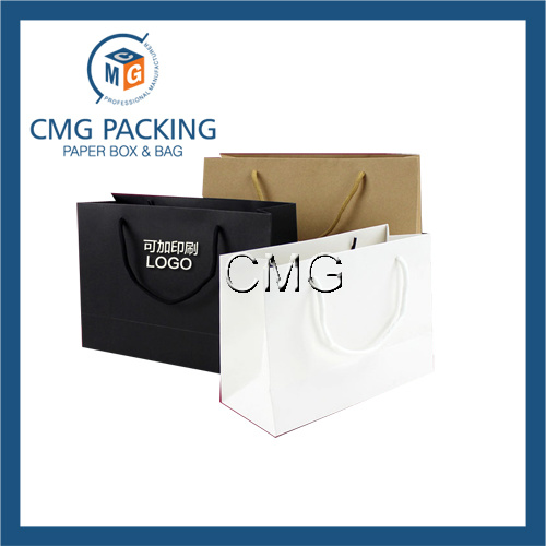 Paper Printed Logo Shopping Bag