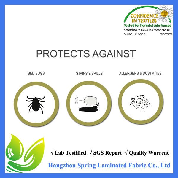 2016 New Mattress Cover Queen Size Waterproof Bed Bug Hypoallergenic Protector Dust Mite