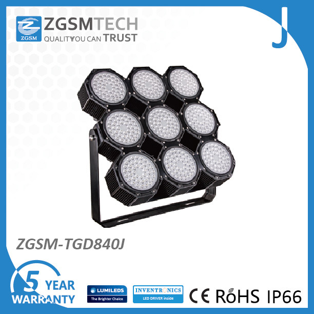 2016 New 840 Super Bright LED Football Lights with IP66