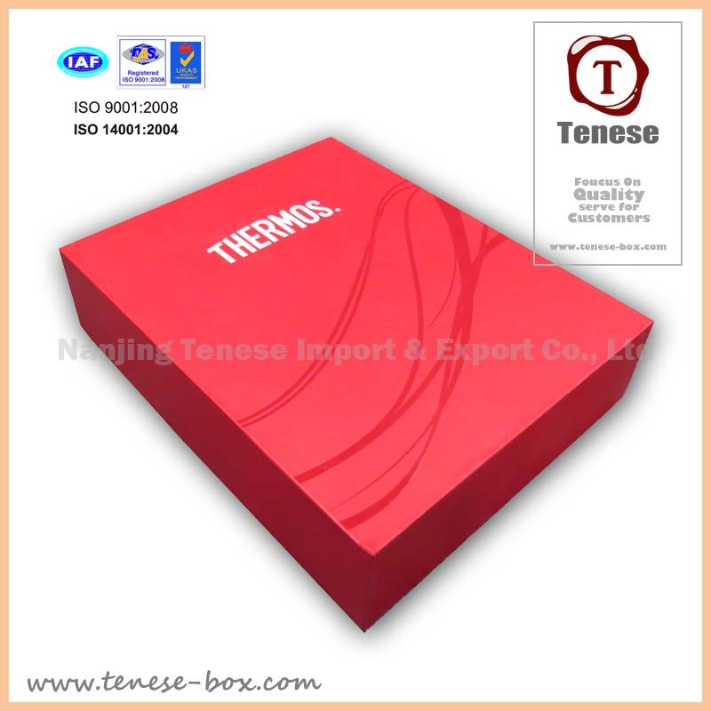 Anniversary Rigid Paper Cardboard Packing Gift Box for Cosmetic