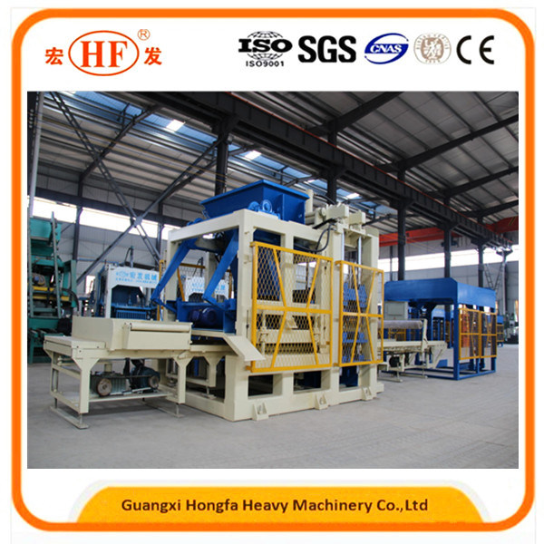 Concrete Automatic Block Making Machine, Brick Production Equipment
