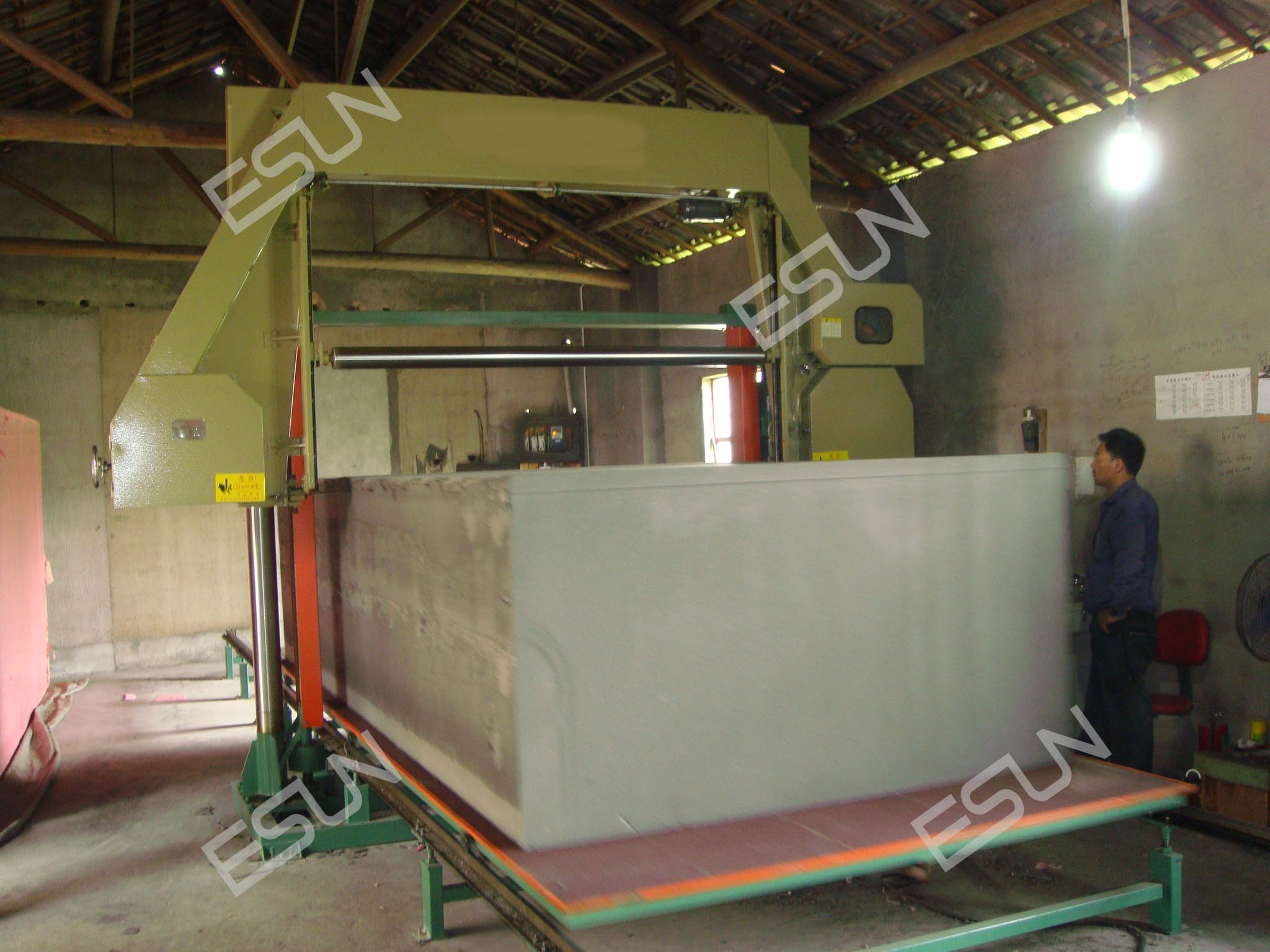 Horizontal Foam Cutting Machine (EPQ-2150)