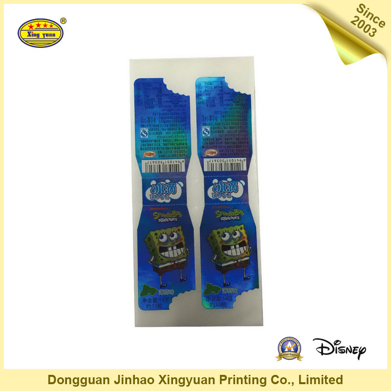 Printing Paper Colorful Decoration Label (JHXY-SH0021)