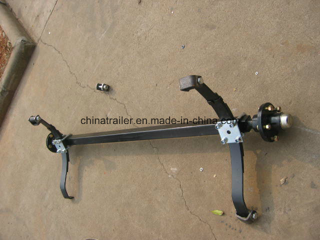 Trailer Axle and Hub