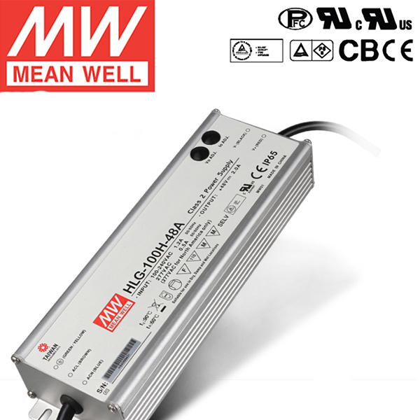 Meanwell Power Supply Hlg-100h-20 Waterproof LED Driver