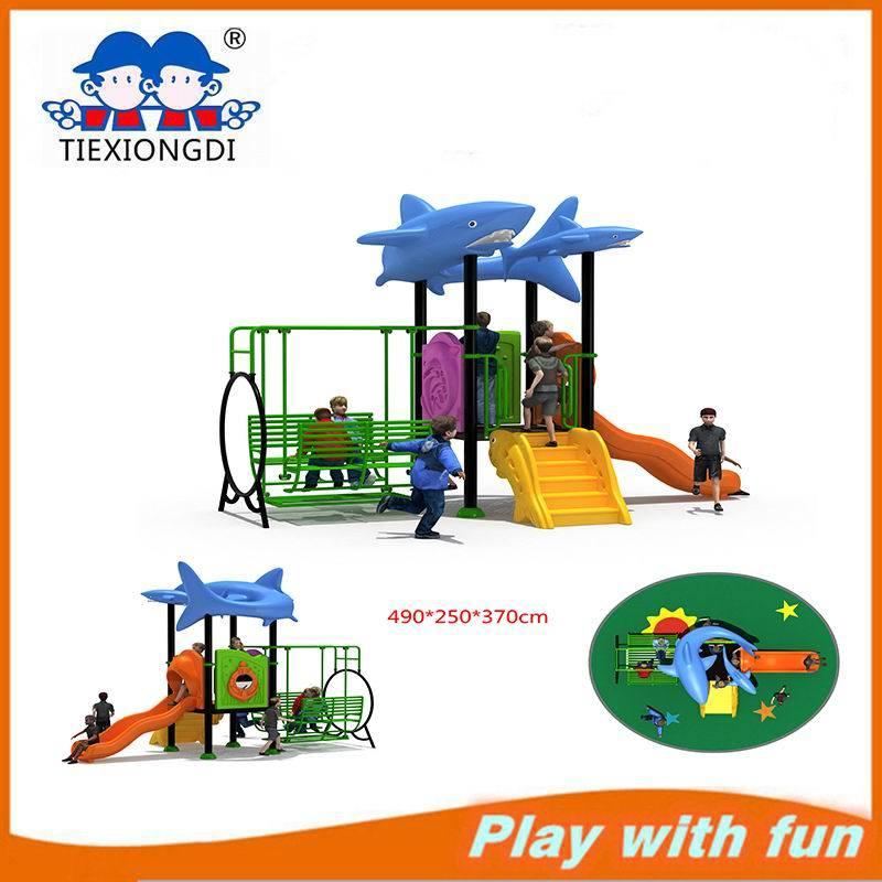 Climb Outdoor Small Playground Equipment Swing Set