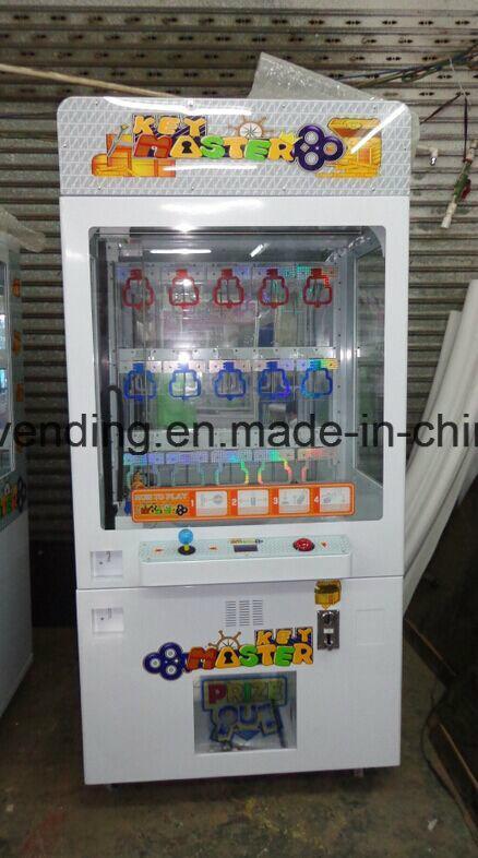 Key Master (Gold Key) Prize Redemption Game Machine (TR1105)