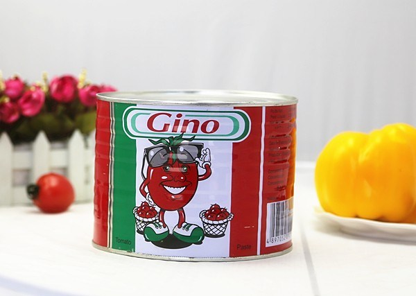 Canned Tomato Paste (70g-2200g gino brand)