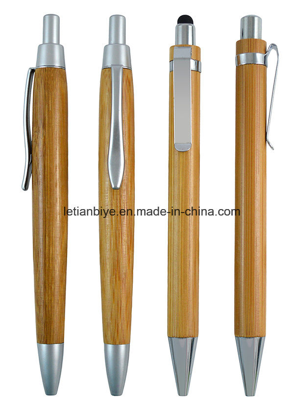 Maple Wood Ball Pen, Wooden Stylus Pen (LT-C800)