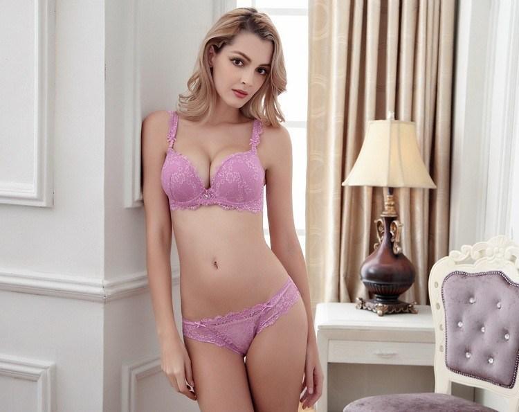 2016 Sexy Front Closure Push up Bra, an Excellent Mesh Shoulder Strap Underwear (FPY317)