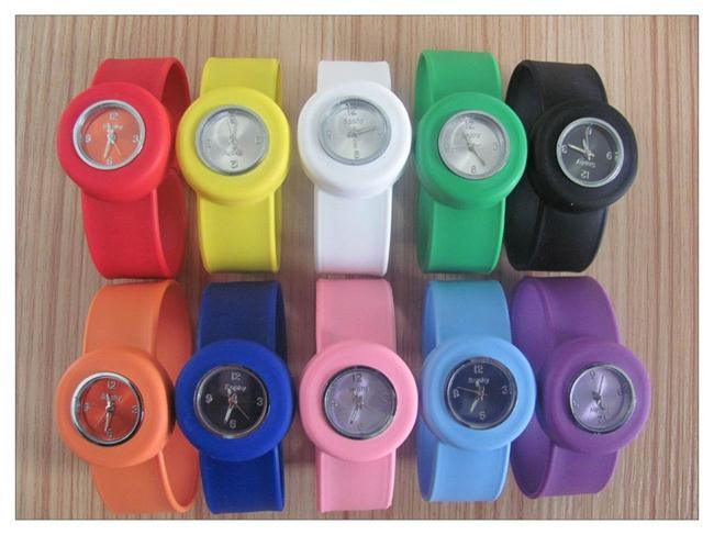 Promotion Gifts Silicone Slap Band for Watch Wristband