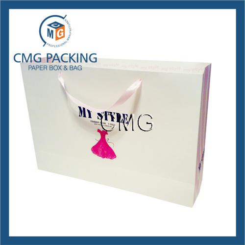 Paper Printed Logo Shopping Bag