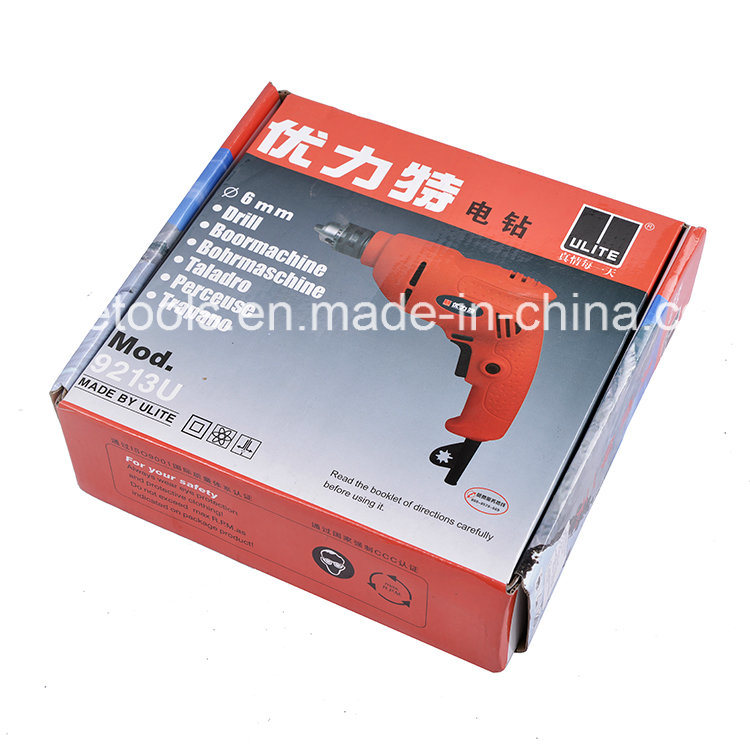 350W Real Power 10mm Professional Electric Drill 9213u
