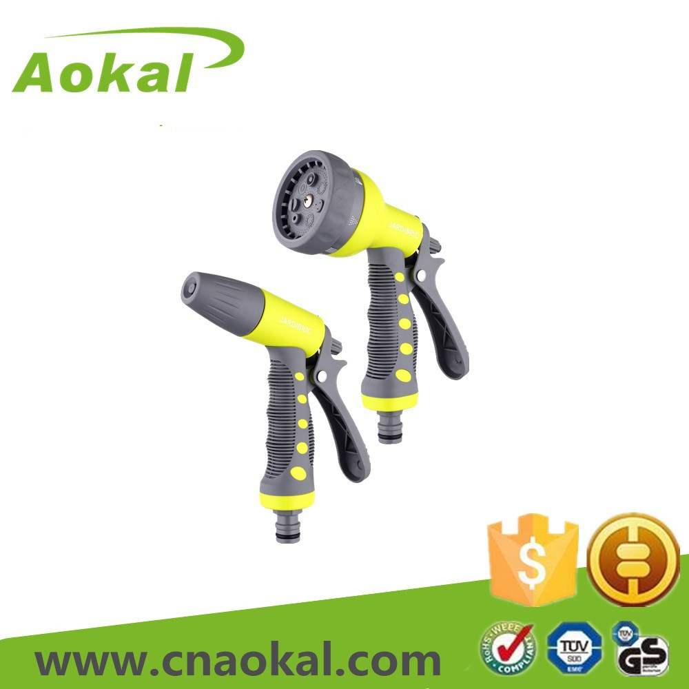 Water Pressure Gun Spray Adjustable Spray Gun Set of Nozzle