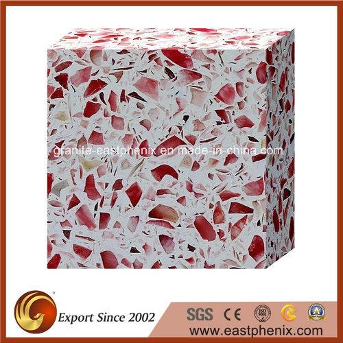 Popular Quartz Stone Tile for Floor/ Kitchen Tile