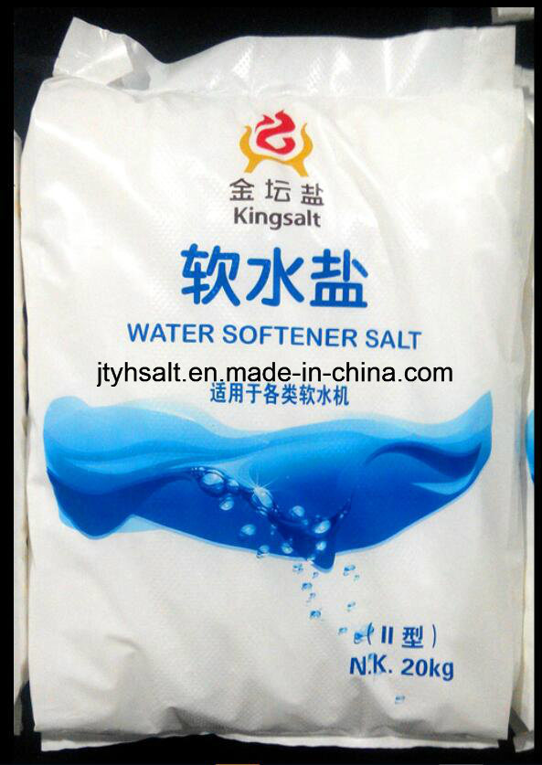 Kintan Water-Softener Salt-20kg PE Bag