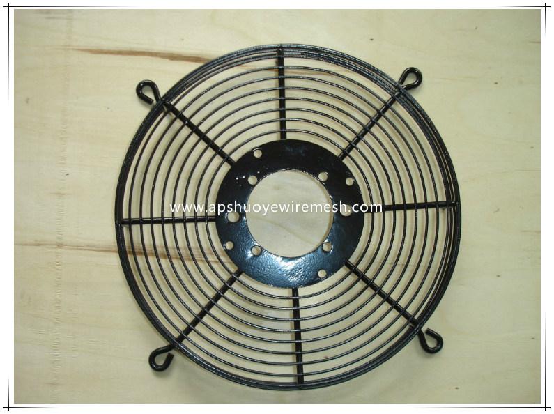 PVC Coated Metal Wire Mesh Fan Guard