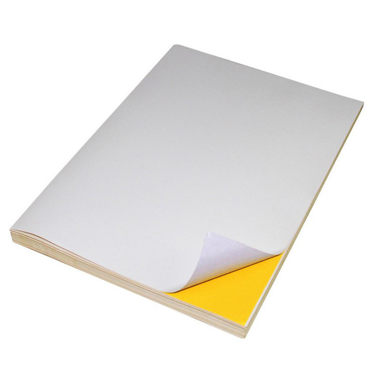 Adhesive Sticker A4 Size Sticker Paper Price for Laser Printer