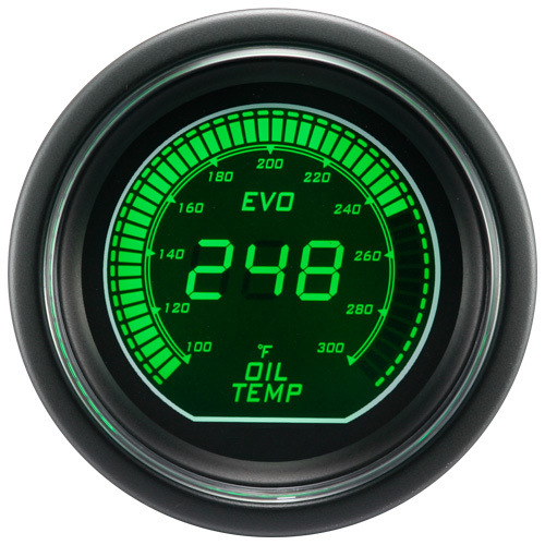 "2"" (52mm) Auto Gauges for Dual Color LCD Digital Gauge (6255)"
