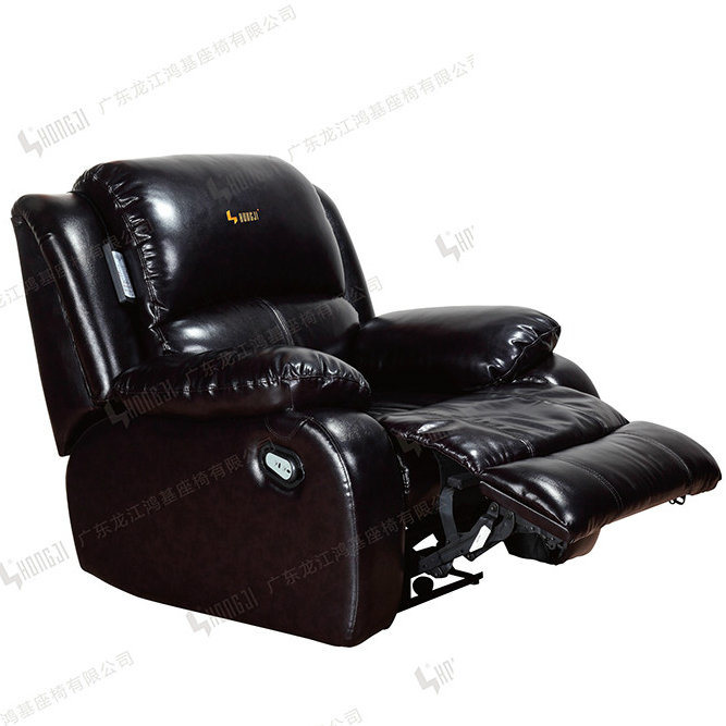 Home Leather Cinema Seating VIP Recliner Theater Sofa
